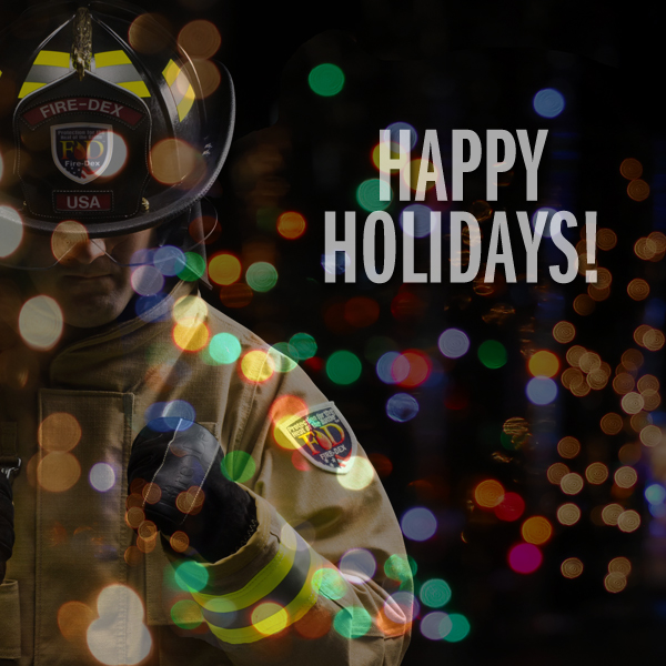 Happy Holidays from Fire-Dex!