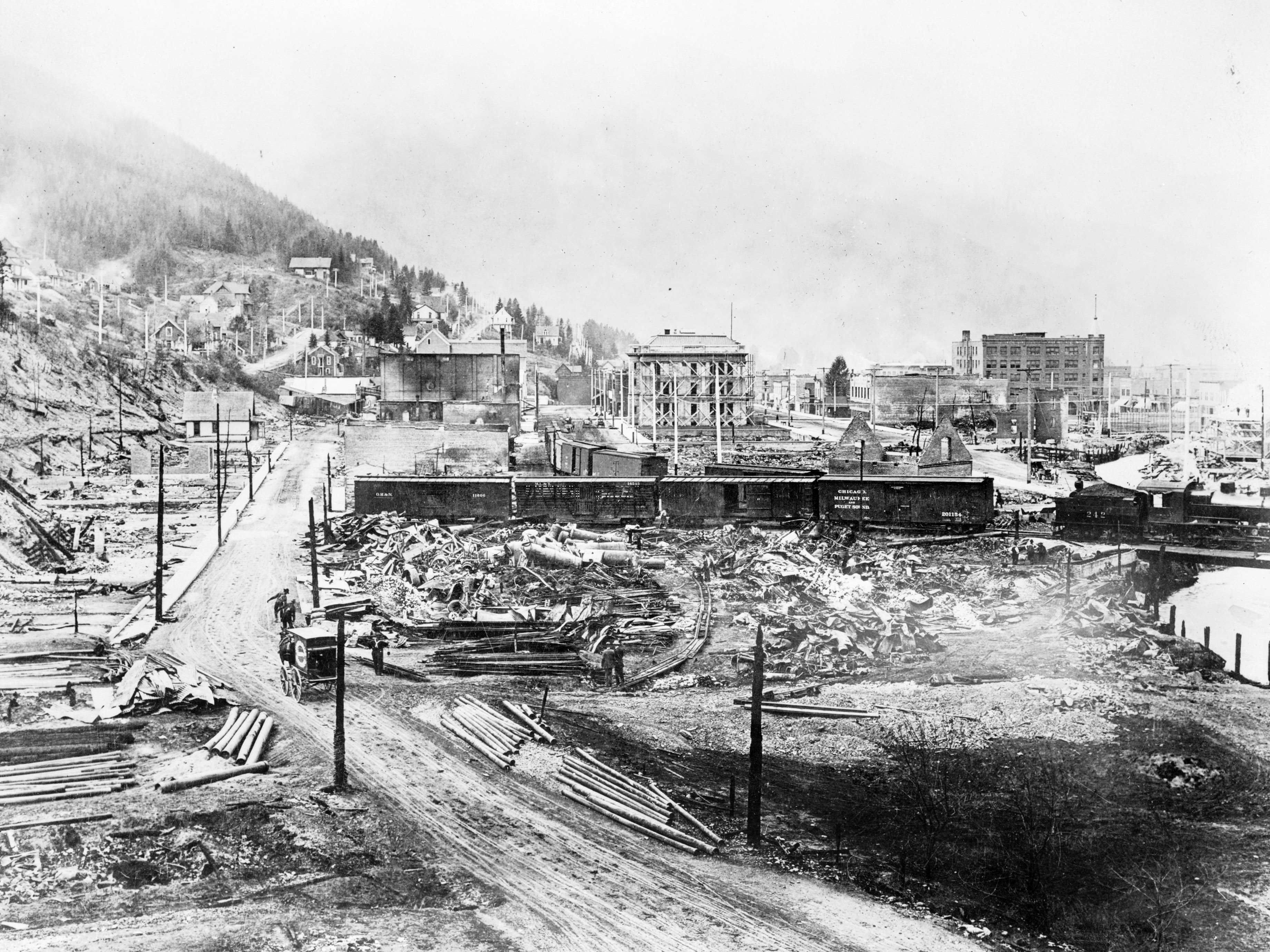 The Great Fire of 1910